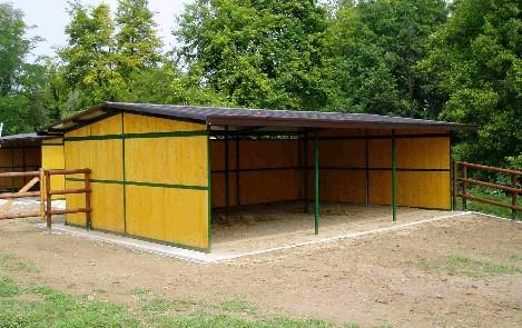 Capannine cavalli terminali antivento per stufe a pellet for Box cavalli prefabbricati